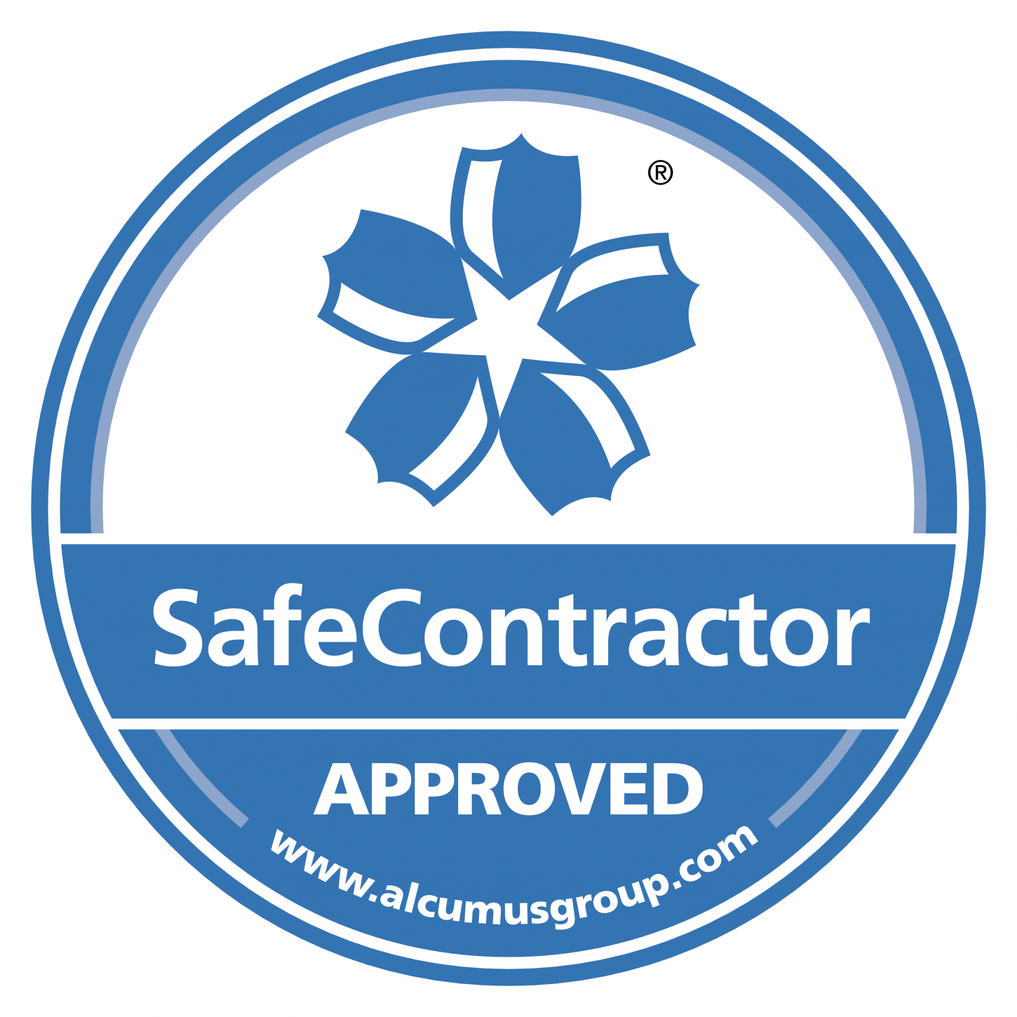 SafeContractor Accreditation Sticker CS6